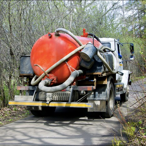 Equipment used for our septic tank repairs in White Lake, MI